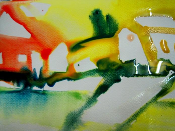 aquarellbeginn