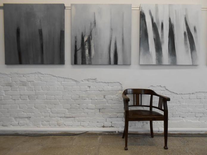 abstrakte Kunst, Acrylmalerei