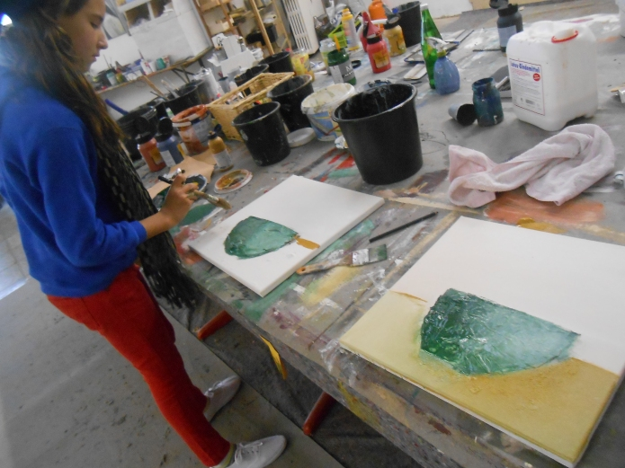 Kindermalkurs Acrylmalerei