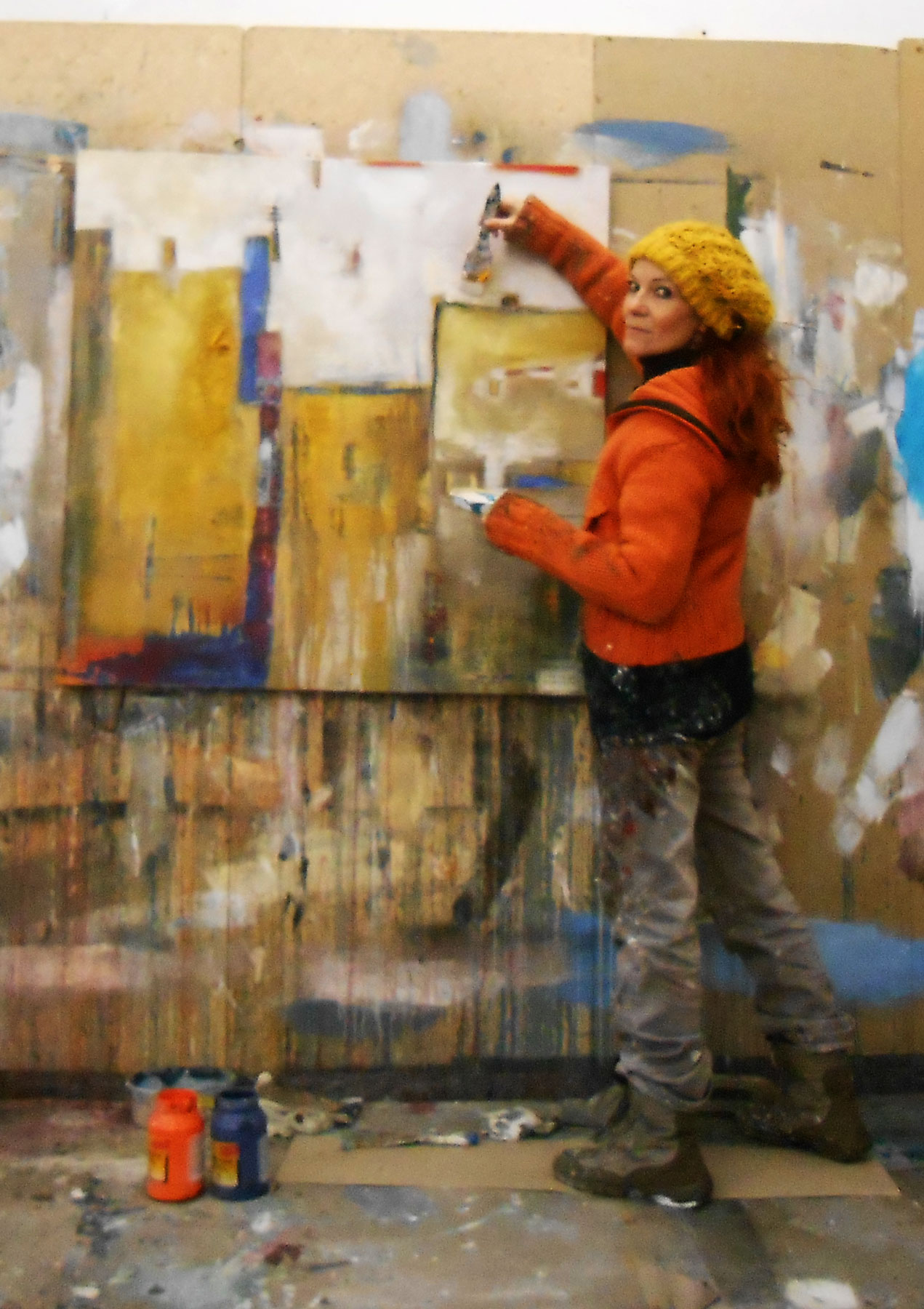 warme farben malerei, warme farben – conny niehoff-malerei, Innenarchitektur