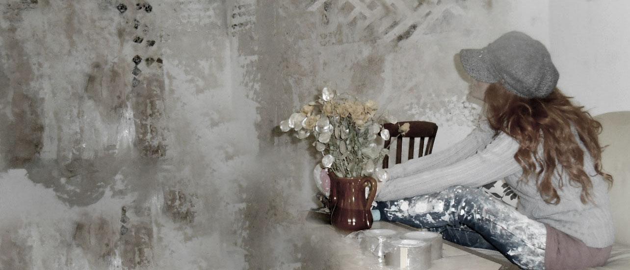 w nde bemalen abstrakte kunst expressive malerei. Black Bedroom Furniture Sets. Home Design Ideas