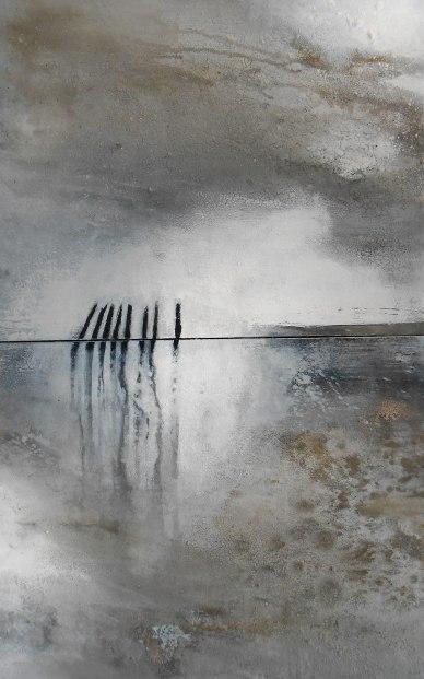 Abstrakte Gemälde kaufen ohne Rahmen