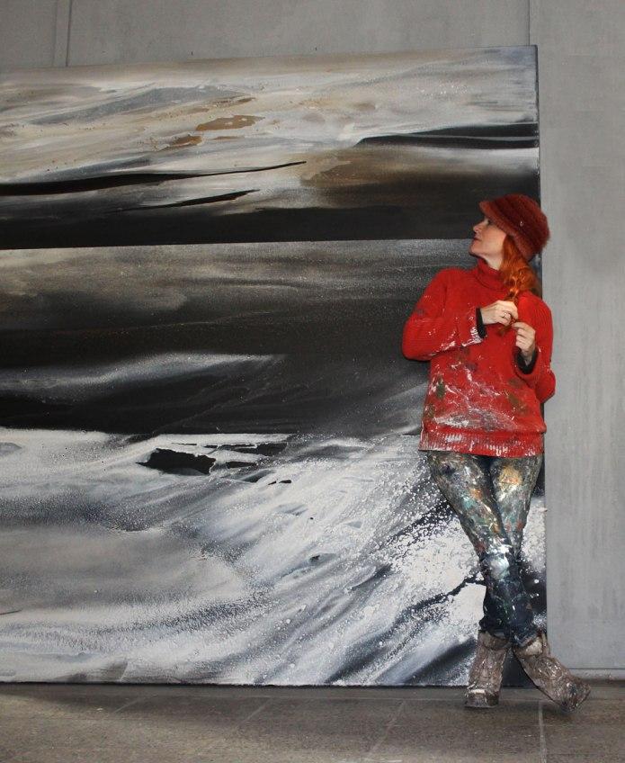 mehrmeer1, abstrakte malerei, abstrakte bilder, abstrakte kunst, kunst kaufen