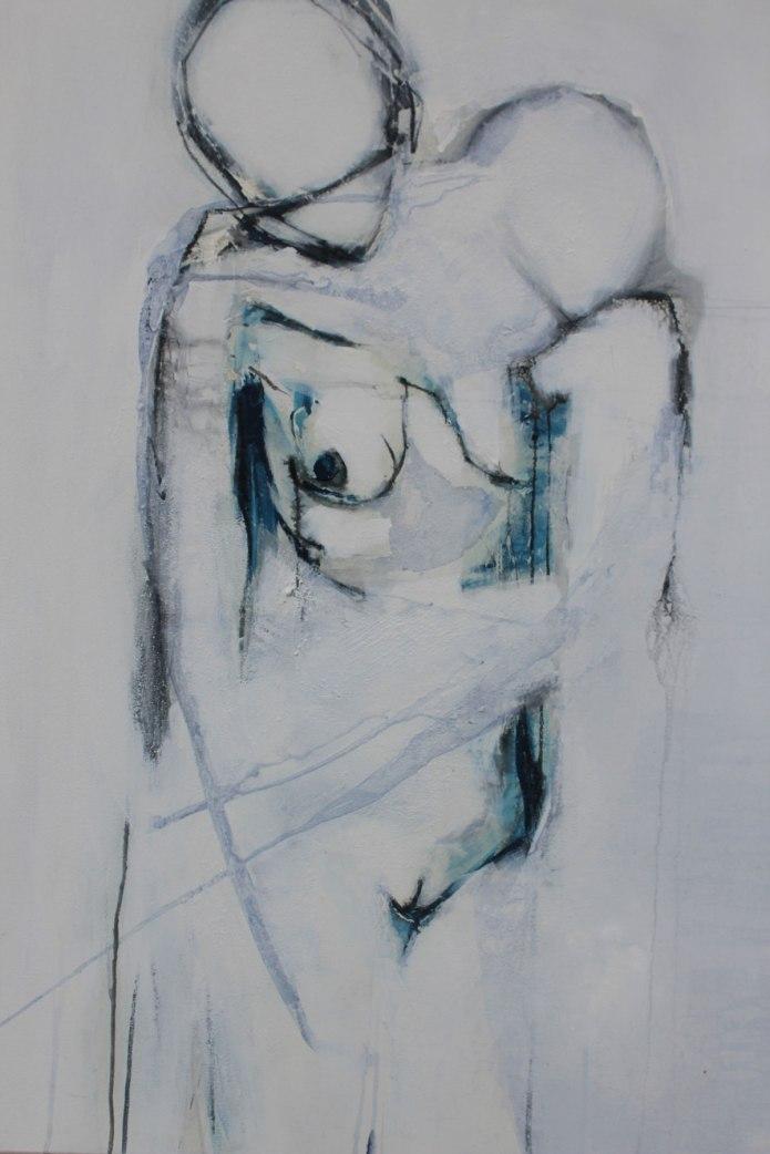 abstrakter akt, abstrakte malerei, kunst kaufen