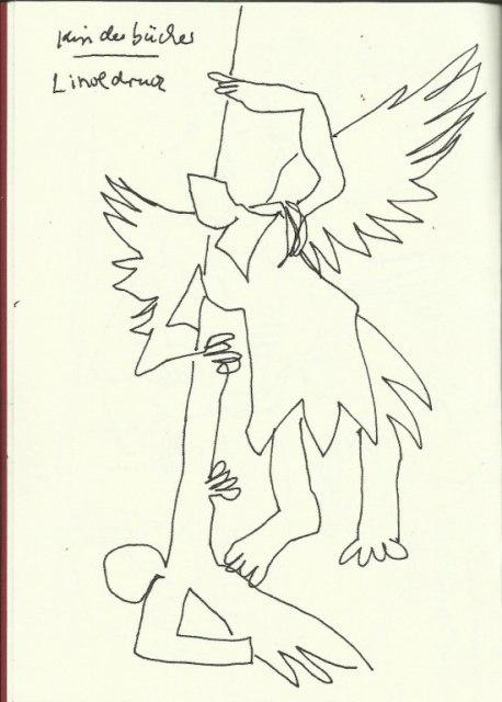 Kolumba (c) Zeichnung von Susanne Haun
