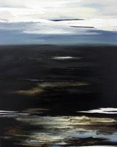 Abschied vom Winter 80/100 cm Preis auf Anfrage, abstrakte KUnst kaufen, direkt beim Künstler