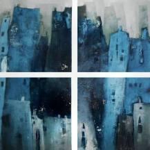 Stadt, Kiez, abstrakt