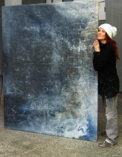Kunst kaufen großformatig