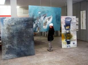 Atelier für abstrakte Kunst Conny Niehoff.