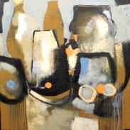 abstraktes Kunstwerk, Stillleben